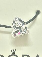 NEW Disney EEYORE 100% Authentic PANDORA ALE S925 Enamel Charm/Bead 791567EN80