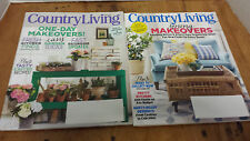 2 Country Living Magazines March 2015 April 2015 Gardening Spring Decor Rustic