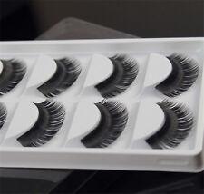 New Makeup False Eyelashes Soft Natural Cross Long Eye Lashes Extension 5 Pairs
