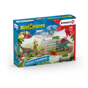 Schleich Dinosaurs Advent Calendar Dinosaur Figures & Accessories 2020 - 98064
