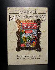 COMICS: Marvel Masterworks: The Avengers #1-10 hardcover - RARE (vintage/figure)