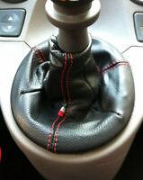 Fiat Panda 169 (Bj 2003-2012) metano benzina multijet CUFFIA cambio PELLE nera
