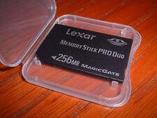 256 mb  MEMORY STICK PRO DUO FOR SONY DSC-W7 W70 W5 W50
