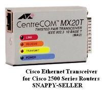 Cisco 2500 2501 Series ROUTER ETHERNET AUI TRANSCEIVER