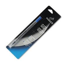 (3) Parker Rollerball Pen Refills Blue Ink FIne Point