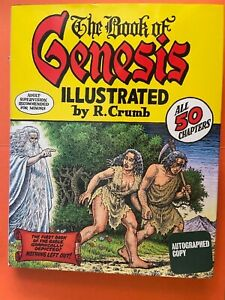THE BOOK OF GENESIS ILLUSTRATED BY R. CRUMB 2009 SIGNED BY R. CRUMB