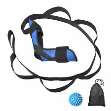 Foot and Calf Stretcher Strap Ankle Achilles Heel Hamstring Pain Relief Yoga