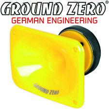 Ground ZERO GZCT 5000spl 20 x 15 CM TWEETER ALTOPARLANTI CORNO SPL TWEETER 180w