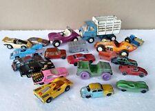 LOT OF VINTAGE METAL TOY CARS Tootsie Budgie Tonka Matchbox Corgi Hot Wheels