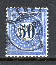 Switzerland - 1878 Postage Due -  Mi. 7 I N VFU (dirty plate)