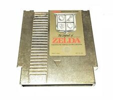 ZELDA -- NES Nintendo GOLD Original RPG Game CLEAN TESTED GUARANTEED