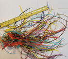 50+ DYED WHITING METZ ROOSTER SADDLE HACKLE FLY TYING HAIR EXTENSION FEATHERS
