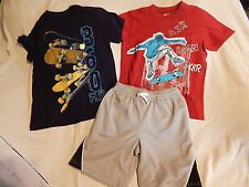 NWT 5 5T 6 5-6 CRAZY 8 by GYMBOREE DESERT WHEELS TOPS & SHORTS OUTFIT SUMMER