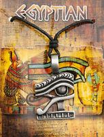 Collar Colgante Ojo Horus Joyas de Lata Egipto ancienne-6986-AD1C