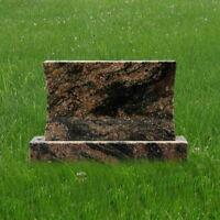Headstone Granite Aurora Concave Pet Mini Gravestone Tombstone Marker MN-177