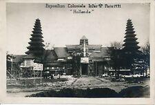 PARIS 1931 - Exposition Coloniale Pavillon Hollande - PRB 680