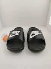 Nike Benasai JDI Men's Slide Black White 343880-090 Size 12