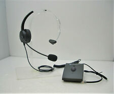 Earsing T300 Mono Auriculares + Plantronics Biway Interruptor para Avaya Socio 6