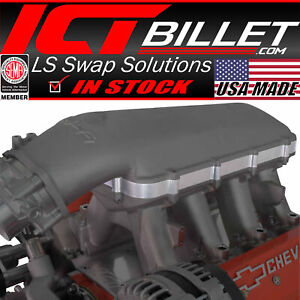 """1"""" Hi-Ram Lid Spacer (Compatible with Holley Intake Manifold) High Riser EFI LS1"""