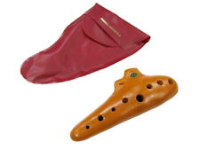 OCARINA 8-Hole Clay  SCHWARZ in Key Of C Supplied In Plastic Pouch