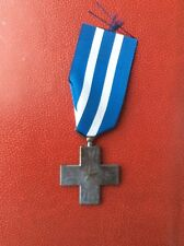 Italie - Superbe médaille du Mérite de Guerre -