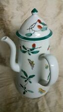 Mottahedeh Portugal Famille Verte Pattern ~ Exceptional Coffeepot