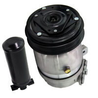 Air Conditioning Compressor & Drier For Holden Commodore VT VU VX VY V6 3.8L A/C