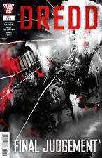 DREDD: FINAL JUDGEMENT #1 JOCK Cover - 2000AD - Judge Dredd 1st Print New NM