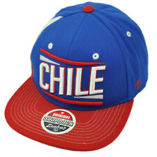 Zephyr Chile Flag Country Blue Red Flat Bill Snapback Adjustable Hat Cap Gorra