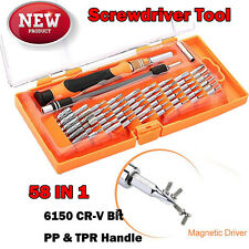 JM-8125 58 in1 Precision Torx Screwdriver Cell Phone Repair Tool Set for iPhone