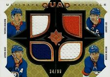 2019-20 Ultimate Quad Materials of Isles Barzal/Lee/Bailey/Nelson 34/99 (19-20)