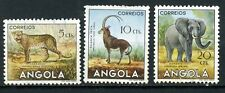 Angola, 1953, Scott #362 - 364, mint and hinged