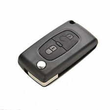 Remote Flip 2 Buttons Key Shell Case Replacement For PEUGEOT 207 307 308 Plastic