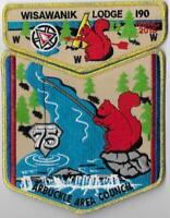 Boy Scout OA Lodge 190 Wisawanik Centennial NOAC 2015 Gold Set