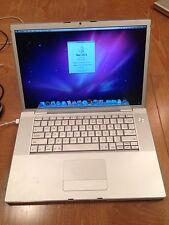 """Macbook Pro 15"""" 15-inch Core 2 Duo 2.16 Ghz 2GB RAM MacbookPro2,2 MA609XX/A"""