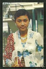Indonesian Java Girl BEAUTY Jewels Costume Suriname 1966