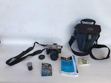 Vtg lot SLR camera Minolta maxxum 4 dynax 3 35-70mm af zoom 49mm filter bag