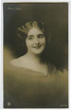 1910s Pretty Actress HENNY PORTEN Glamour Beauty Lady photo postcard