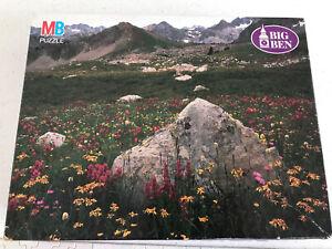 1992 MB Big Ben 1000 piece jigsaw puzzle Snowmass Wilderness CO colorado USA