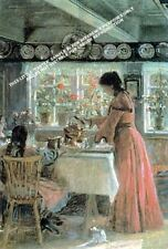 The Coffee Is Poured by Laurits Regner Tuxen Artwork by Selby Prints