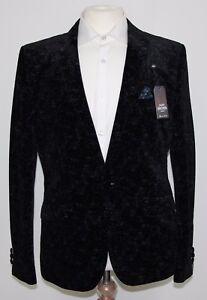 Men's Harry Brown, Black/Blue Party blazer... 54542/0302