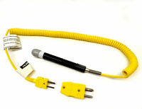 Omega Engineering 88007K Temperature Probe Type-K Thermocouple CK+ AL- 88000 Ser