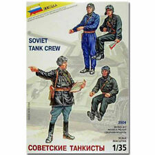 Zvezda 3504 soviet tank crew model kit figures 1:35