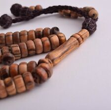 5X Piecec of OUD wood Islamic prayer beads,muslim Tasbih-Worry Beads