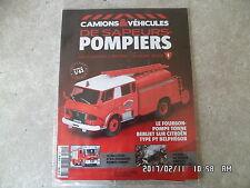 MAGAZINE CAMIONS & VEHICULES DE SAPEURS POMPIERS N°1 CITROEN BELPHEGOR   K35