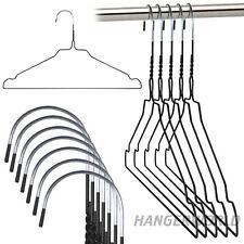 Hangerworld™ 450 Perchas 40cm Metal Varios Colores Pantalones Tintorería