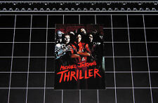 Michael Jackson Thriller vinyl decal sticker retro pop music 1980s 80s zombie