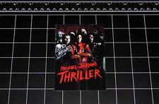 Michael Jackson Thriller vinyl decal sticker retro pop music 1980s 80s zombie