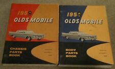 1958 Oldsmobile Body & Chassis Parts Books