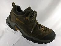 Columbia Birke Trail Omni Grip Hiking Boots Brown Men's Size 8.5
